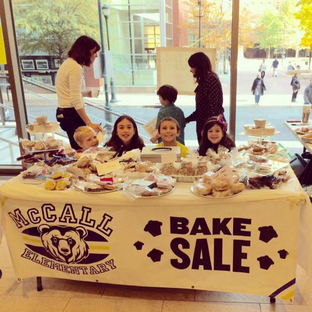 Bake sale Nov 2016