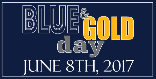 Blue & Gold Day- 2017