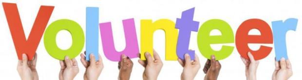 volunteer hands
