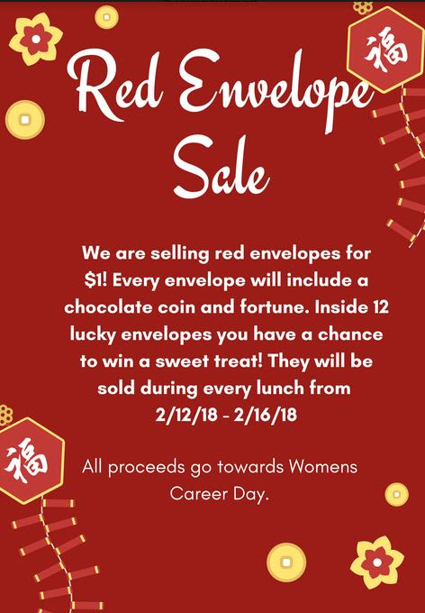 Red Envelope sale 2018