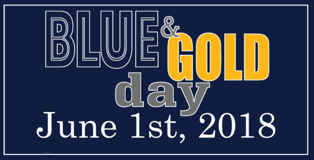 Blue & Gold Day- 2018